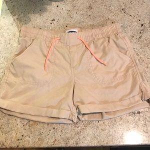 Girls Old Navy khaki shorts